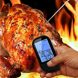 Wireless Digital Thermometer for Cooking Kitchen Food BBQ Thermometer