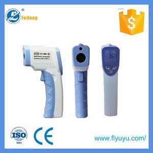 Infrared thermometer for human body temperature
