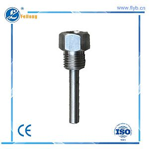 Straight protection tube fixed bolt
