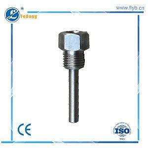 Straight protection tube fixed bolt