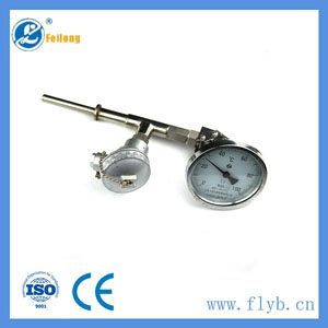 Bimetal temperature thermometer