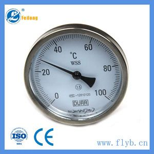 Industrail temperature bimetal thermometer