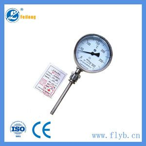 Industrial stainless steel pressure gauge