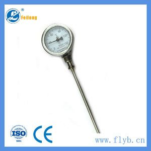 Industrial bimetal temperature thermometer