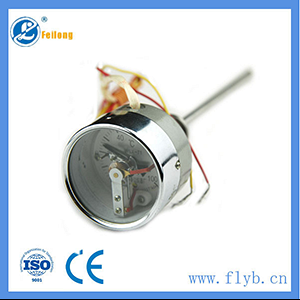 Electric contact bimetal thermometer