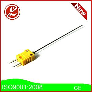 Needle-shaped thermocouple