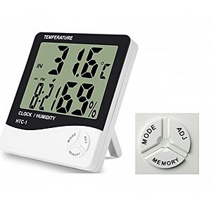 HTC-1 Indoor and Outdoor Digital Thermometer Hygrometer