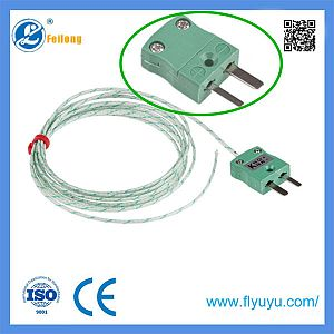 Fine Wire Exposed Junction Thermocouple - PTFE/PFA Insulated