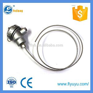 Assembly armored Bending thermocouple