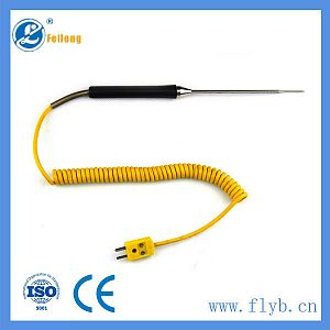 Needle type thermocouple