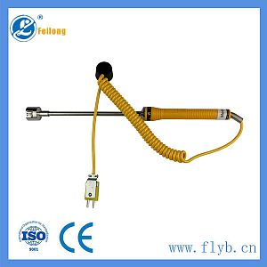 Mushroom head thermocouple probe