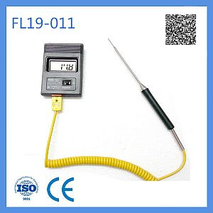 Soft Thermocouple Needle-Shaped K Type Temperature Sensor with Plug