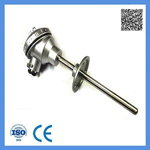 Assembly Rtd -100-420c Temperature Sensor with Fixed Flange Resistance