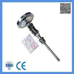 Dial 100mm Industrial Stainless Steel Long Probe Bimetal Thermometer 0-300c