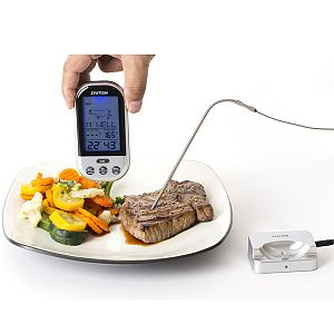 Wireless Digital Thermometer Food Meat Probe Cooking Kitchen BBQ Oven Thermometer