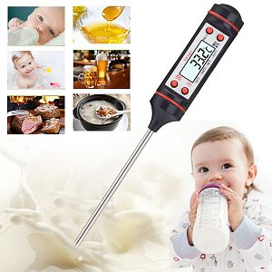 Pen Probe Thermometer Digital Food Meat Cooking Kitchen BBQ Liquid Thermometer